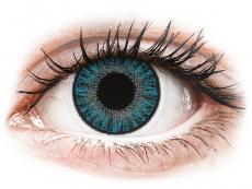 Modré kontaktní čočky - nedioptrické - TopVue Color - Blue - nedioptrické jednodenní (10 čoček)