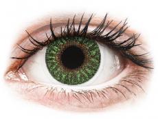 Kontaktní čočky TopVue - TopVue Color - Green - dioptrické (2čočky)