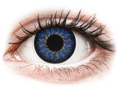 ColourVUE Glamour Blue - nedioptrické (2čočky) - Barevné kontaktní čočky