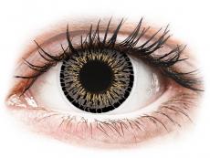 Šedé kontaktní čočky - nedioptrické - ColourVUE Elegance Grey - nedioptrické (2čočky)