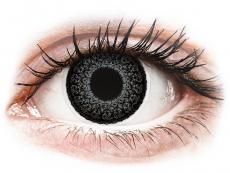 Barevné kontaktní čočky - dioptrické - ColourVUE Eyelush Grey - dioptrické (2čočky)