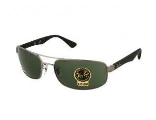 Obdélníkové sluneční brýle - Ray-Ban RB3445 - 002