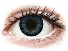 Barevné kontaktní čočky - ColourVUE BigEyes Cool Blue - dioptrické (2čočky)