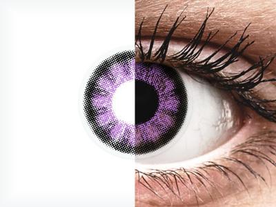 ColourVUE BigEyes Ultra Violet - nedioptrické (2čočky)