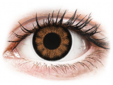 Barevné kontaktní čočky - ColourVUE BigEyes Sexy Brown - dioptrické (2čočky)