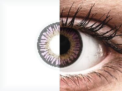 ColourVUE 3 Tones Violet - nedioptrické (2čočky)