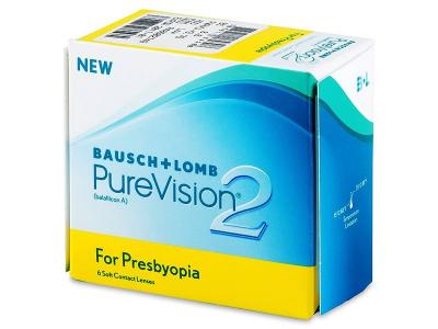 PureVision 2 for Presbyopia (6čoček) - Předchozí design