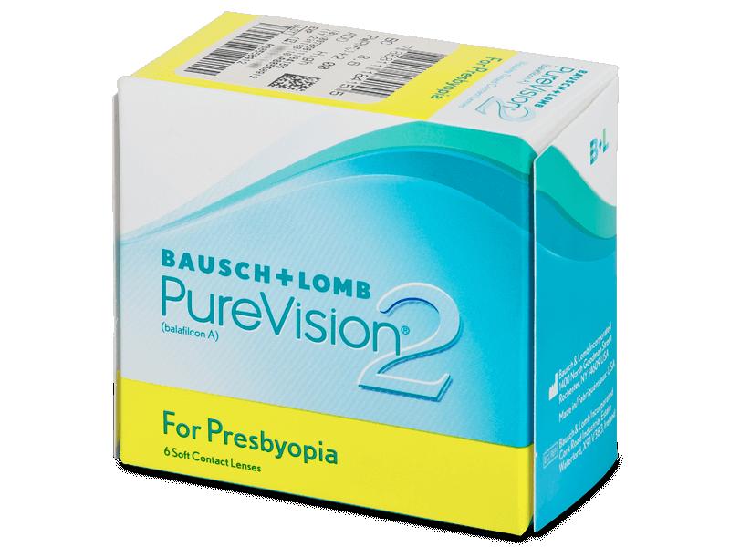 PureVision 2 for Presbyopia (6čoček) - Multifokální kontaktní čočky