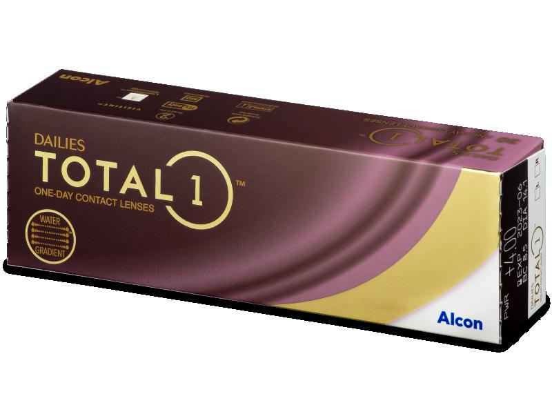 Dailies TOTAL1 (30čoček) - Jednodenní kontaktní čočky