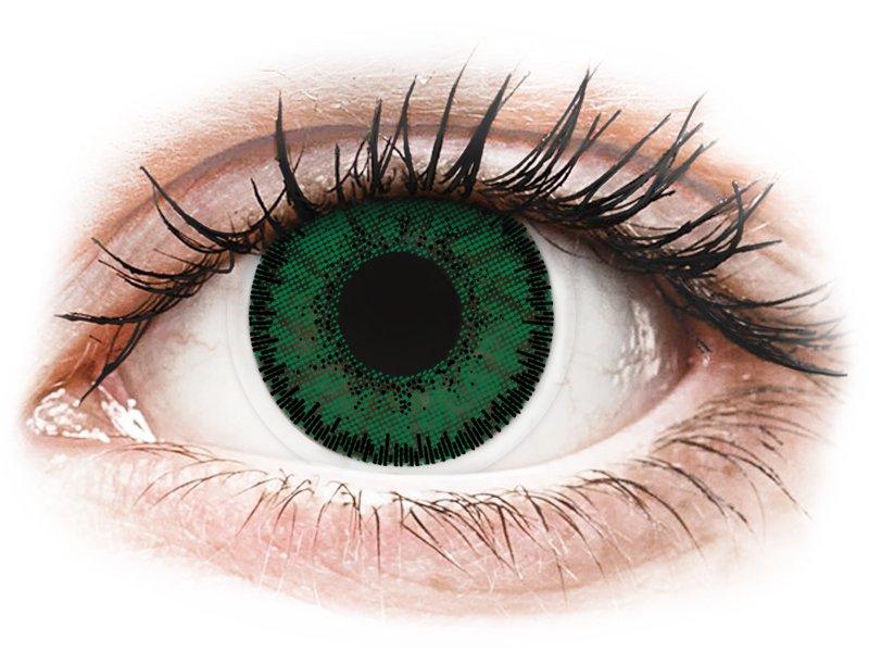 SofLens Natural Colors Aquamarine - dioptrické (2čočky) - Barevné kontaktní čočky