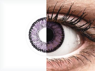 SofLens Natural Colors Indigo - dioptrické (2čočky)
