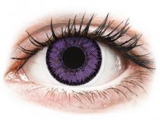 Fialové kontaktní čočky - nedioptrické - SofLens Natural Colors Indigo - nedioptrické (2čočky)