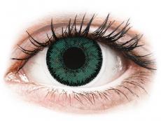 Barevné kontaktní čočky - nedioptrické - SofLens Natural Colors Jade - nedioptrické (2čočky)