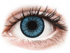 Barevné kontaktní čočky - nedioptrické - SofLens Natural Colors Pacific - nedioptrické (2čočky)