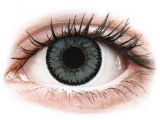 Šedé kontaktní čočky - dioptrické - SofLens Natural Colors Platinum - dioptrické (2čočky)