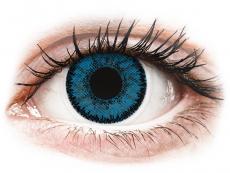 Barevné kontaktní čočky - nedioptrické - SofLens Natural Colors Topaz - nedioptrické (2čočky)