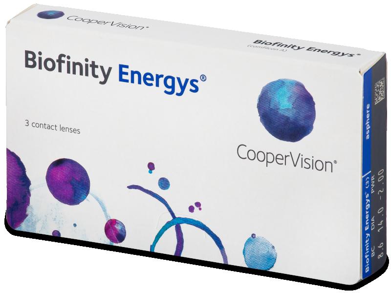 Biofinity Energys (3 čočky) - Contact lenses