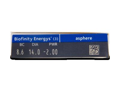 Biofinity Energys (3 čočky) -