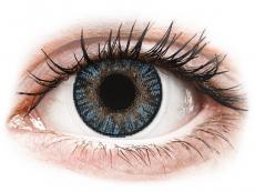 Modré kontaktní čočky - nedioptrické - FreshLook ColorBlends Blue - nedioptrické (2čočky)