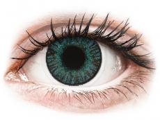 Modré kontaktní čočky - dioptrické - FreshLook ColorBlends Brilliant Blue - dioptrické (2čočky)