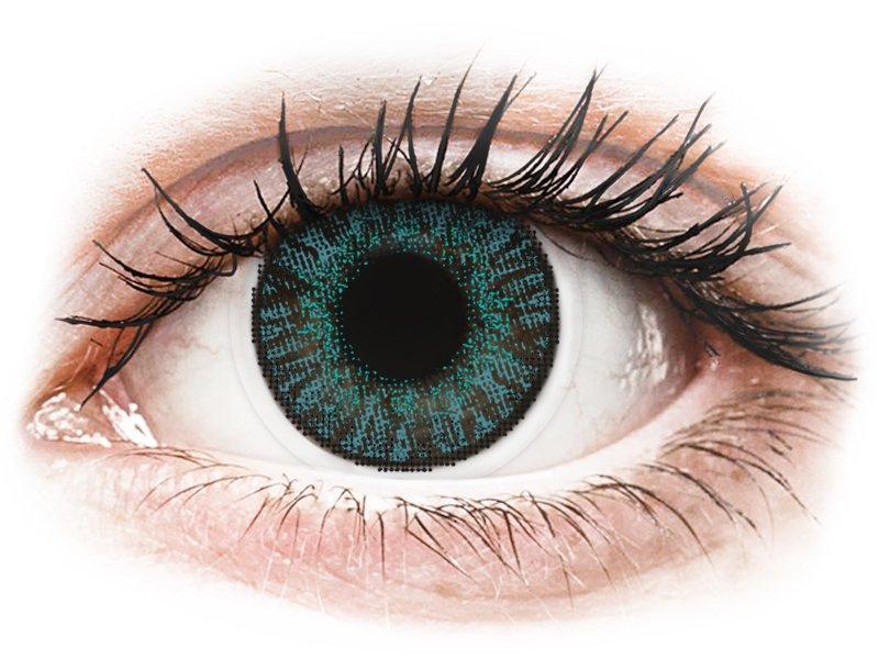 FreshLook ColorBlends Brilliant Blue - dioptrické (2čočky) - Barevné kontaktní čočky