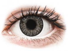 Barevné kontaktní čočky - dioptrické - FreshLook ColorBlends Sterling Gray - dioptrické (2čočky)