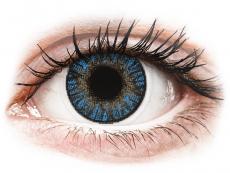 Barevné kontaktní čočky - nedioptrické - FreshLook ColorBlends True Sapphire - nedioptrické (2čočky)