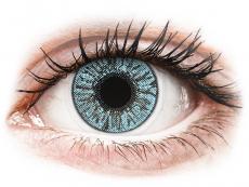 Modré kontaktní čočky - dioptrické - FreshLook Colors Blue - dioptrické (2čočky)