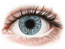 Modré kontaktní čočky - nedioptrické - FreshLook Colors Blue - nedioptrické (2čočky)
