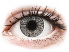 Barevné kontaktní čočky - dioptrické - FreshLook Colors Misty Gray - dioptrické (2čočky)