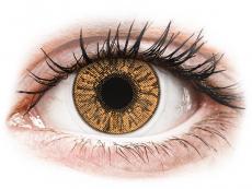 Barevné kontaktní čočky - nedioptrické - FreshLook Colors Hazel - nedioptrické (2čočky)