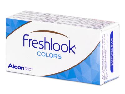 FreshLook Colors Hazel - nedioptrické (2čočky)