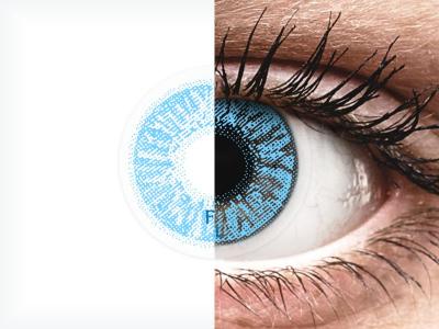 FreshLook Colors Sapphire Blue - dioptrické (2čočky)