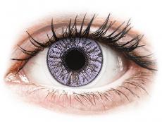 Barevné kontaktní čočky - dioptrické - FreshLook Colors Violet - dioptrické (2čočky)