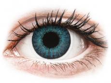 Barevné kontaktní čočky - Air Optix Colors - Brilliant Blue - dioptrické (2čočky)