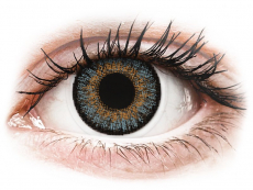 Modré kontaktní čočky - nedioptrické - FreshLook One Day Color Blue - nedioptrické (10čoček)