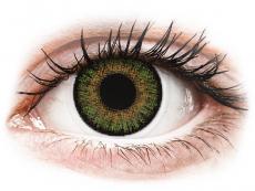 Barevné kontaktní čočky - dioptrické - FreshLook One Day Color Green - dioptrické (10čoček)