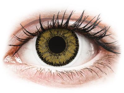 SofLens Natural Colors Dark Hazel - dioptrické (2čočky) - Barevné kontaktní čočky