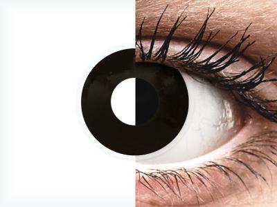 ColourVUE Crazy Lens - Blackout - nedioptrické jednodenní (2 čočky)