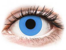Modré kontaktní čočky - nedioptrické - ColourVUE Crazy Lens - Sky Blue - nedioptrické jednodenní (2čočky)