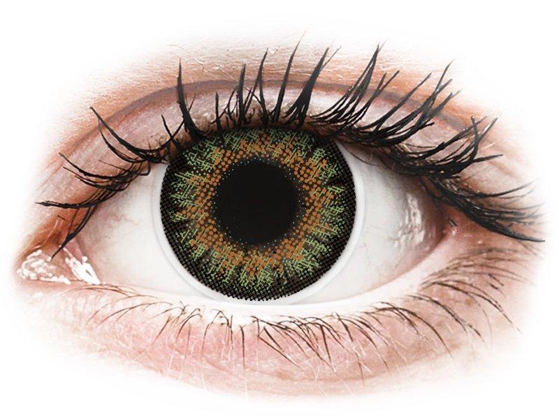 ColourVue One Day TruBlends Green - dioptrické (10čoček)