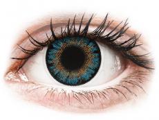 Modré kontaktní čočky - dioptrické - ColourVue One Day TruBlends Blue - dioptrické (10čoček)