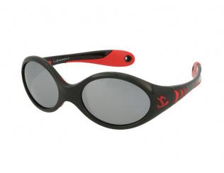 Oválné sluneční brýle - Kid Rider KID177 Black/Red