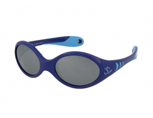 Oválné sluneční brýle - Kid Rider KID177 Dark Blue