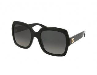 Sluneční brýle Oversize - Gucci GG0036S-011