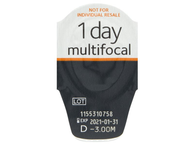 Proclear 1 Day multifocal (30 čoček) -