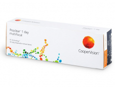 Multifokální kontaktní čočky - Proclear 1 Day multifocal (30čoček)