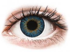 Barevné kontaktní čočky - dioptrické - Air Optix Colors - True Sapphire - dioptrické (2čočky)