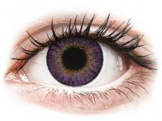 Fialové kontaktní čočky - nedioptrické - Air Optix Colors - Amethyst - nedioptrické (2 čočky)