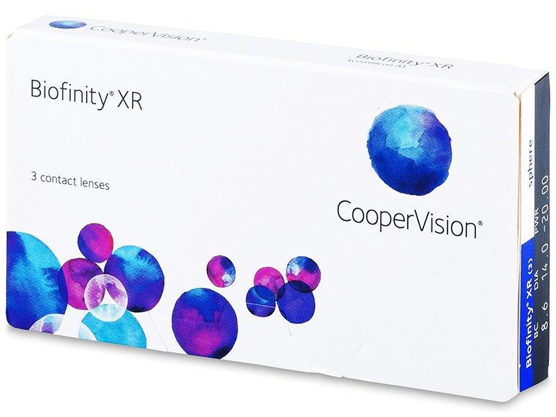 Biofinity XR (3čočky) - Měsíční kontaktní čočky